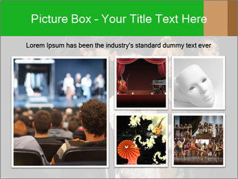 Theater Institute PowerPoint Templates - Slide 19
