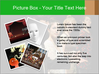Theater Institute PowerPoint Templates - Slide 23