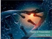 DNA molecule PowerPoint Template