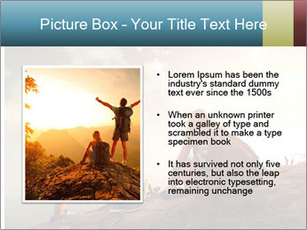 Top of a mountain PowerPoint Templates - Slide 13