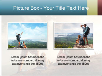 Top of a mountain PowerPoint Templates - Slide 18