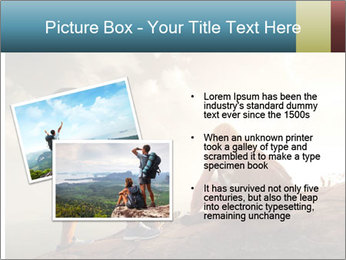 Top of a mountain PowerPoint Templates - Slide 20