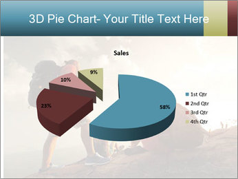 Top of a mountain PowerPoint Templates - Slide 35