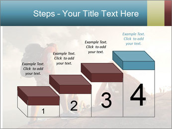 Top of a mountain PowerPoint Templates - Slide 64