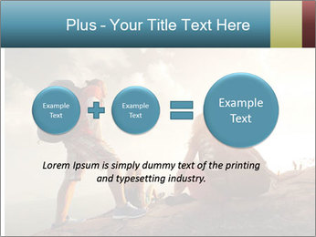 Top of a mountain PowerPoint Templates - Slide 75