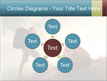 Top of a mountain PowerPoint Templates - Slide 78