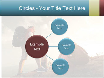 Top of a mountain PowerPoint Templates - Slide 79