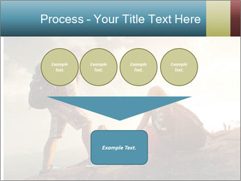 Top of a mountain PowerPoint Templates - Slide 93