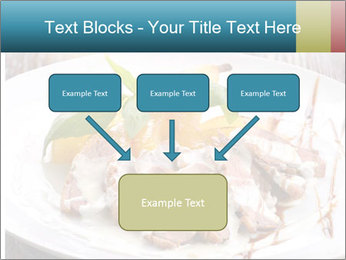 Roasted duck breast PowerPoint Templates - Slide 70