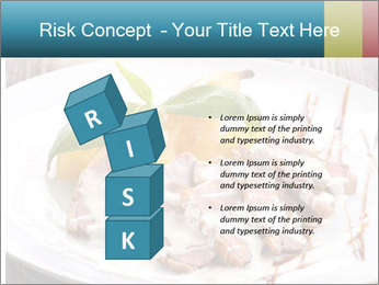 Roasted duck breast PowerPoint Templates - Slide 81