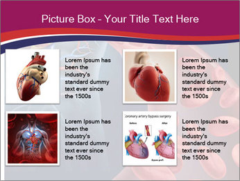 Heart blood PowerPoint Template - Slide 14