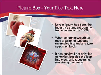 Heart blood PowerPoint Template - Slide 17