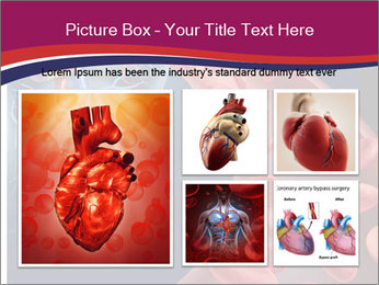 Heart blood PowerPoint Template - Slide 19