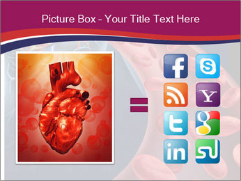 Heart blood PowerPoint Template - Slide 21