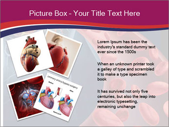 Heart blood PowerPoint Template - Slide 23