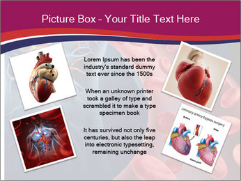 Heart blood PowerPoint Template - Slide 24
