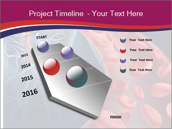 Heart blood PowerPoint Template - Slide 26