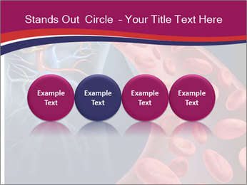 Heart blood PowerPoint Template - Slide 76
