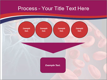 Heart blood PowerPoint Template - Slide 93