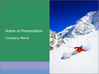 Freeride PowerPoint Template - Slide 1