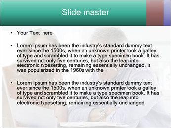 Worried mature PowerPoint Templates - Slide 2