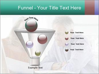 Worried mature PowerPoint Template - Slide 63