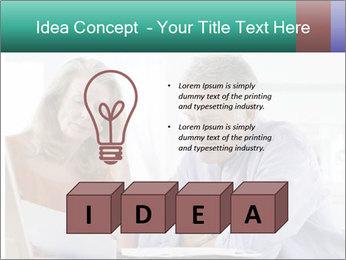 Worried mature PowerPoint Templates - Slide 80