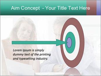 Worried mature PowerPoint Template - Slide 83
