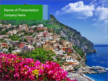 Colors of sunny PowerPoint Templates - Slide 1
