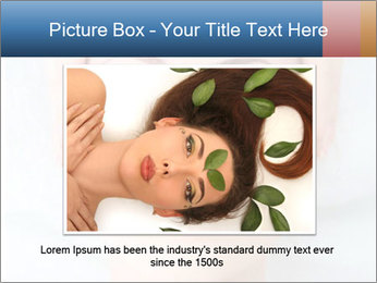 Sexy woman in spa PowerPoint Template - Slide 15