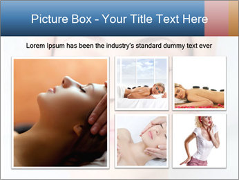 Sexy woman in spa PowerPoint Template - Slide 19