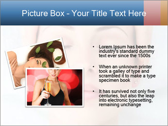 Sexy woman in spa PowerPoint Template - Slide 20