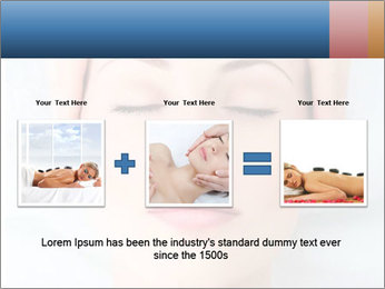 Sexy woman in spa PowerPoint Template - Slide 22
