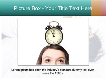Pretty brunette PowerPoint Template - Slide 15