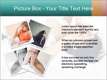 Pretty brunette PowerPoint Template - Slide 23