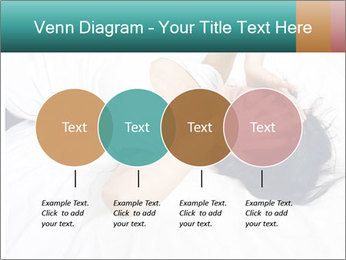 Pretty brunette PowerPoint Template - Slide 32