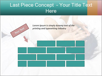Pretty brunette PowerPoint Template - Slide 46