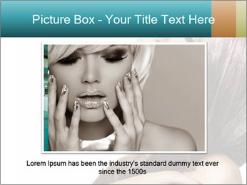 Sexy Beauty Girl PowerPoint Template - Slide 15