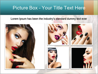 Sexy Beauty Girl PowerPoint Template - Slide 19