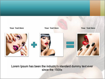 Sexy Beauty Girl PowerPoint Template - Slide 22