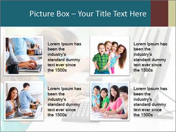 Group elementary school PowerPoint Templates - Slide 14