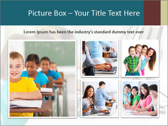 Group elementary school PowerPoint Templates - Slide 19