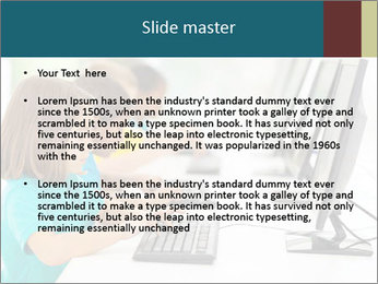 Group elementary school PowerPoint Templates - Slide 2