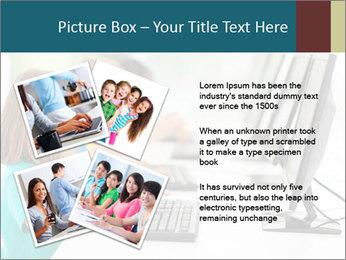 Group elementary school PowerPoint Templates - Slide 23