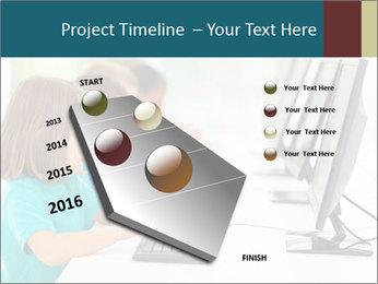 Group elementary school PowerPoint Templates - Slide 26
