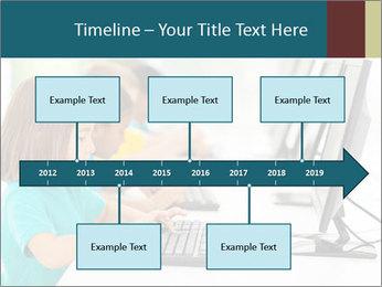 Group elementary school PowerPoint Templates - Slide 28