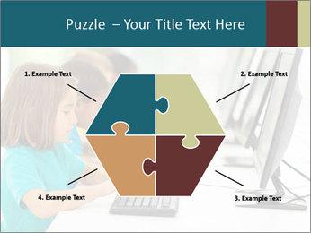 Group elementary school PowerPoint Templates - Slide 40
