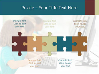 Group elementary school PowerPoint Templates - Slide 41