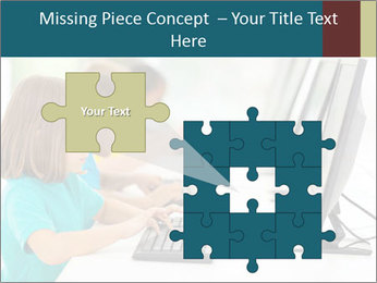 Group elementary school PowerPoint Templates - Slide 45