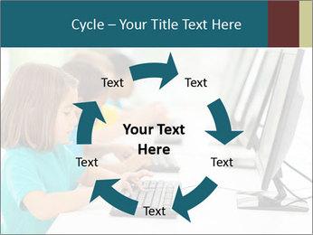 Group elementary school PowerPoint Templates - Slide 62